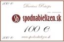 Darčeková poukážka v hodnote 100,EUR